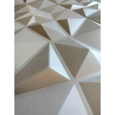 KASETON SUFITOWY ŚCIENNTY DIAMENT SZARY 3D