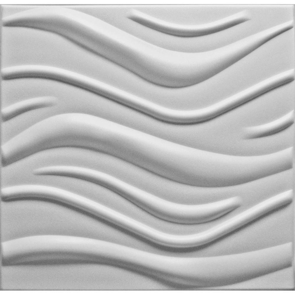 KASETON SUFITOWY ŚCIENNY WAVE 3D